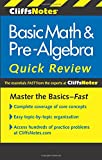 CliffsNotes Basic Math and Pre-Algebra Quick Review, 2nd Edition (Cliffs Quick Review (Paperback))