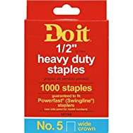 Do it Best Global Sourcing 347164 Do it No. 5 Staples-1/2