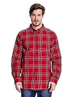 Columbia Camisa Hombre (Rojo)