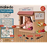 Makedo Find & Make Shop - 57 pc