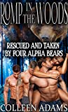 Romp in the Woods (Bear Shifter FMMMM Steamy Menage Romance): Rescued and Taken by Four Alpha Bears