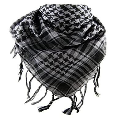 Very soft houndstooth neck scarf, Kanye West style, different colors available