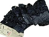 有松鳴海絞り伝統工芸品総絞り浴衣反物ネイビー系【有松20】