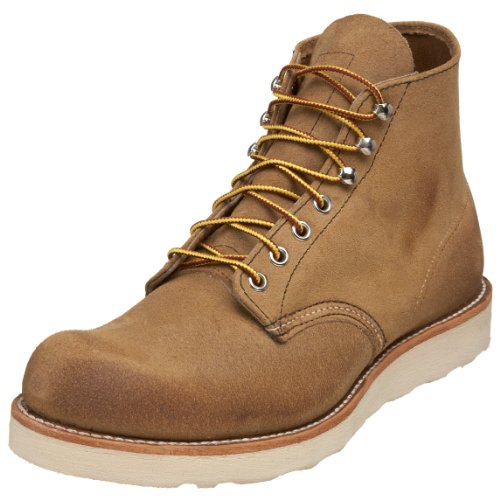 """Red Wing Men'S 8181 6"""" Classic Round Boot,Hawthorne Muleskinner,9 D Us"""