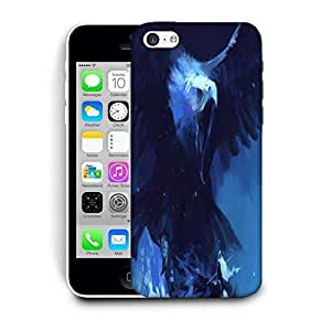Snoogg Roaring Eagle Printed Protective Phone Back Case Cover For Apple Iphone 6 / 6S