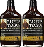 Rufus Teague's Award Winning BBQ Sauces - OU Kosher - Honey Sweet (2 Pack) (375 ml each)
