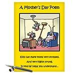 CAJ0045 Jumbo Funny Mother's Day Card...