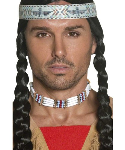 Native American Necklace Indian Costume Choker Only 33229
