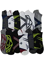 Tapout Men's No Show Socks 12 Pairs