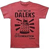 DR. WHO -- VOTE NO ON DALEKS -- MENS TEE
