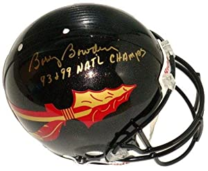Bobby Bowden Signed Florida State Seminoles Black Full Size Authentic NCAA Helmet... by Sports+Memorabilia