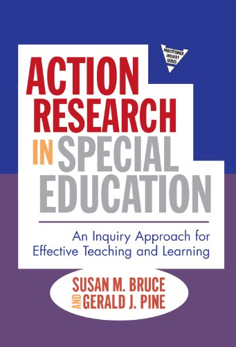 Action Research in Special Education: An Inquiry Approach...