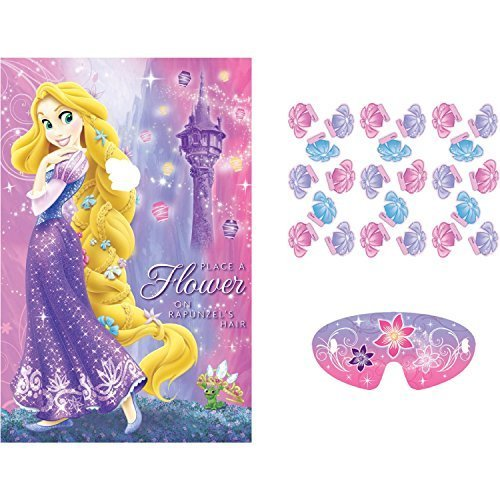 Tangled Sparkle Party Game Poster (1ct) (Tangled Game compare prices)