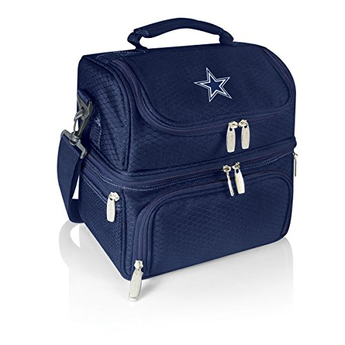 NFL Dallas Cowboys Pranzo Insulated Lunch Tote, Navy, 12 x 11 x 8-Inch (Cowboys Cooler Tote compare prices)