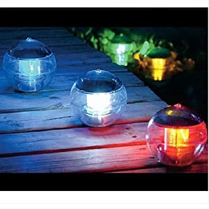 NexScene LED Solar Powered Outdoor Gutter / Fence / Wall Light from BuyinCoins