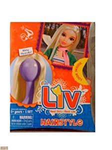 Liv Doll Blonde without Bangs Hairstyle Wig *Doll NOT Included