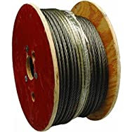 Apex Cooper Campbell7000927Uncoated Galvanized Cable-200' 5/16