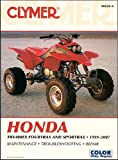 Clymer Manuals Honda TRX400EX Fourtrax/Sportrax and TRX400X 1999-2013 (Clymer Motorcycle Repair)