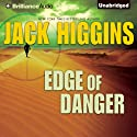 Edge of Danger: Sean Dillon, Book 9 (       UNABRIDGED) by Jack Higgins Narrated by Michael Page