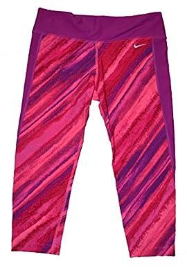 Nike Women's Capri Leggings Training Pink NESS5271-677 X-LARGE