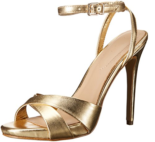 Aldo Women's Celleno Dress Sandal, Gold, 8.5 B US