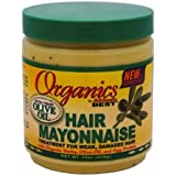 Organics Africa's Best Organic Hair Mayonnaise, 15 Ounce (Pack of 2)