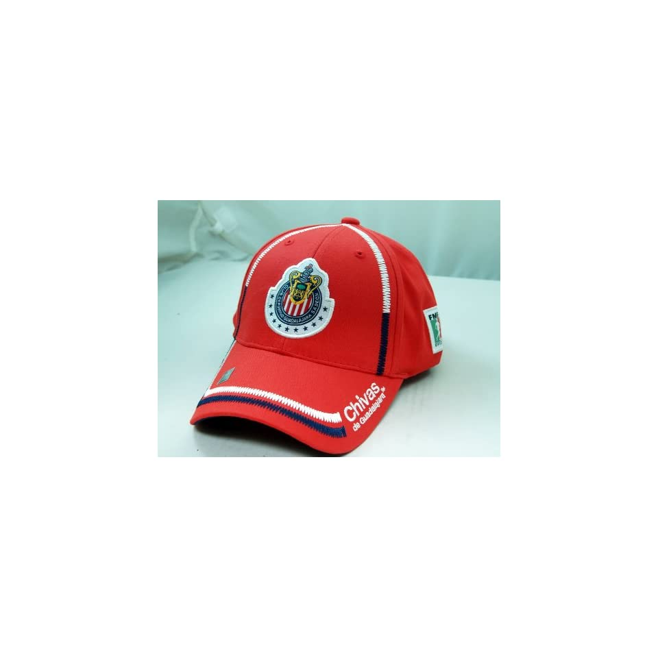 CHIVAS de GUADALAJARA OFFICIAL TEAM LOGO CAP / HAT   CV003