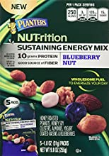 Planters NUT-rition Sustaining Energy Mix Blueberry Nut 9oz Box Pack of 3