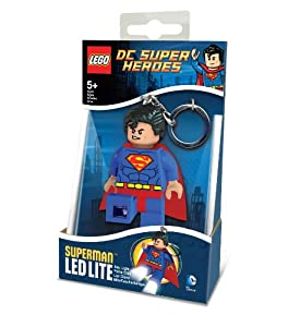 Lego Lights DC Super Heroes Superman Keylight