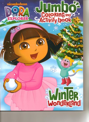 "Dora Jumbo Coloring & Activity Book ""Winter Wonderland"" - 1"