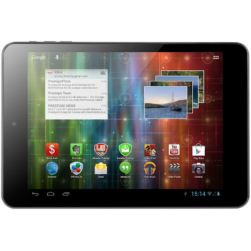 Prestigio MultiPad 4 Quantum 7.85 19,9 cm (7,85'') Tablette Tactile (Quad Core ARM Cortex A9, 1,6GHz, 1Go RAM, 8Go HDD, Android 4.2) Bleu