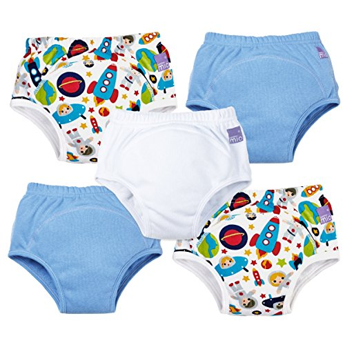 Bambino Mio Potty Training Pants Mixed Pack, Boys, 2-3 Years, 5 Count