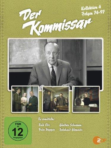 Der Kommissar: Kollektion 4, Folgen 74-97 [7 DVDs]