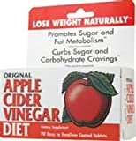51mYcnUWdNL. SL160  AMERICAN HEALTH APPLE CIDER VINEGAR DIET 90 TAB 1 EA