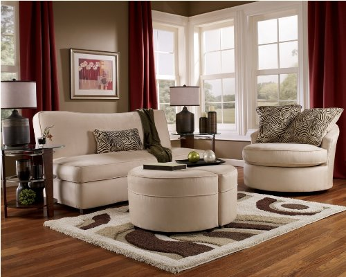 Rayanne-Stone Living Room Set by Ashley Furniture