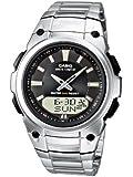 Casio Funkuhren Herren-Armbanduhr Analog/Digital Quarz WVA-109HDE-1AVER