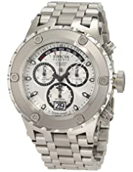 Invicta Men's 1565 Reserve Chronograph Silver Dial Stainless Steel Watch