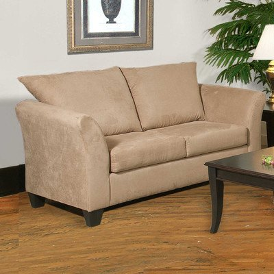 Loveseat Fabric: Sienna Mocha