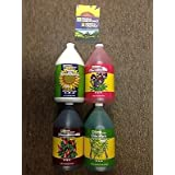 General Hydroponics 4 Part Gallons Grow, Bloom, Micro, Koolbloom