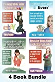 img - for Freaking Idiots Guides 4 Book Bundle Ebay Fiverr Kindle & Public Domain book / textbook / text book