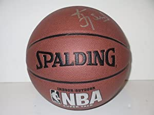 Kevin Johnson Autographed Signed NBA Spalding I O Basketball, Phoenix Suns,... by Southwestconnection-Memorabilia