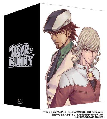 TIGER&BUNNY(タイガー&バニー) 9 (初回限定版) <最終巻> [Blu-ray]
