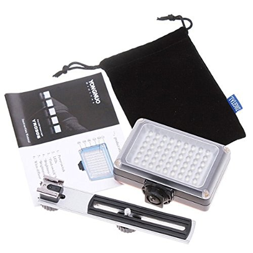 Yongnuo Yn-0906 Led Video Light For Nikon D7100 D7000 D5300 D5200 D5100 D5000 D3300 D3200 D3100 D3000 Camera Slr Dslr Illumination Lamp Camcorder