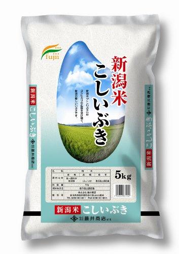 【精米】新潟県産 白米 こしいぶき5kg 平成26年産