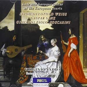 Luth Et Guitare Baroque Dans Les Cours Européennes