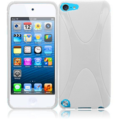 Cell Accessories For Less For Apple Ipod Touch 5 X Tpu Cover Case - White - By Thetargetbuys