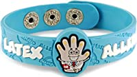 AllerMates Latex Allergy Wristband Dr. StrangeGlove from Awearables, Inc.