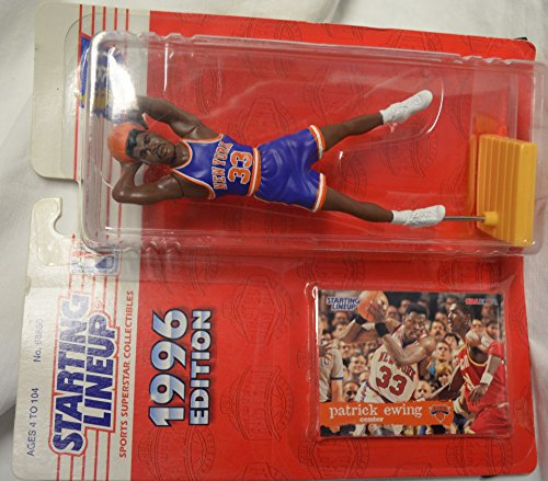 1996 NBA Starting Lineup - Patrick Ewing - New York Knicks