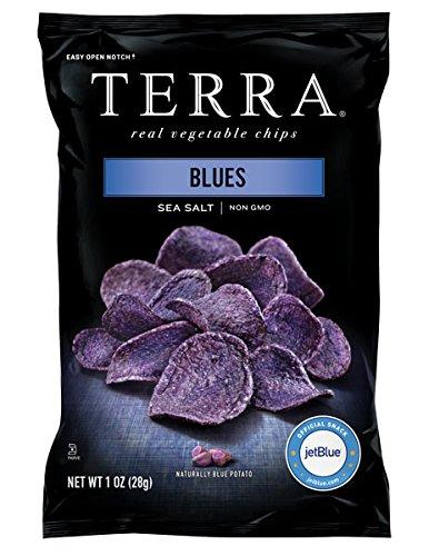 TERRA Blues, Sea Salt, 1 Ounce (Pack of 24) (Terra Chip Sea Salt compare prices)