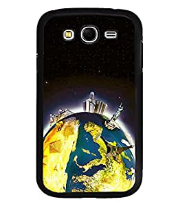 printtech Wonders of World Back Case Cover for Samsung Galaxy Grand i9080:::Samsung Galaxy Grand i9082